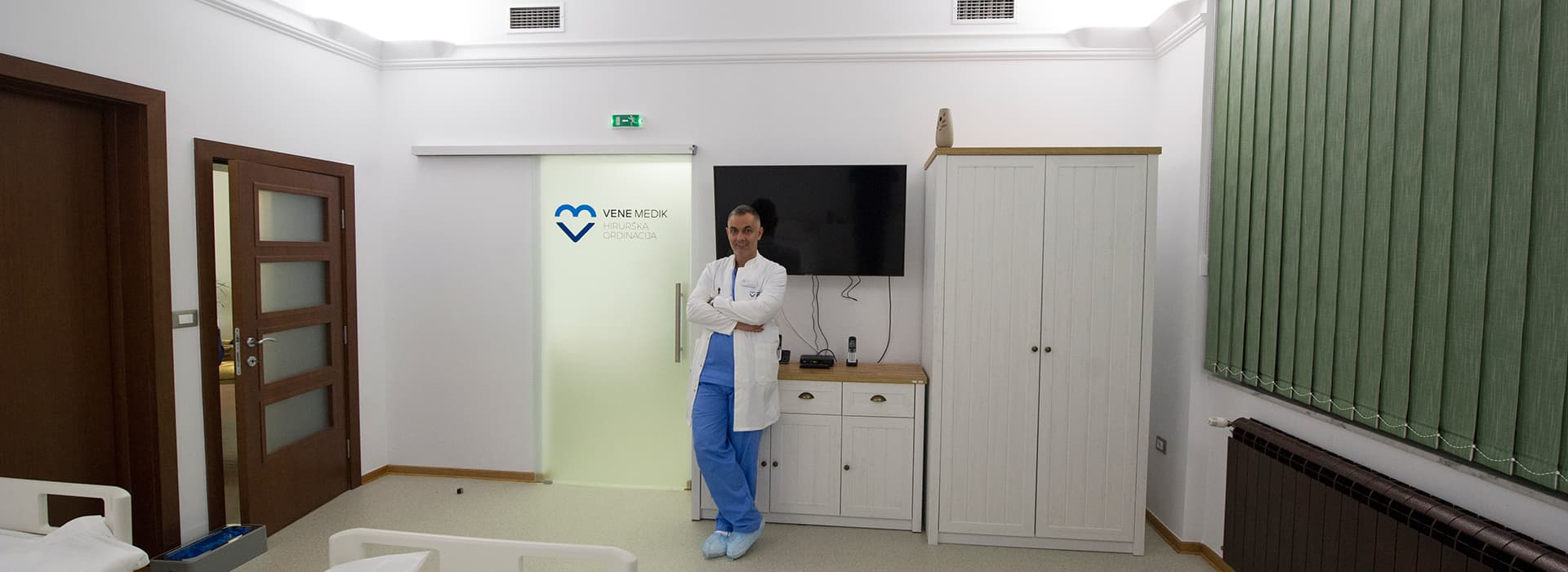 Doc dr Ivan Marjanović specijalista opšte hirurgije I subspecijalista vaskularne hirurgije